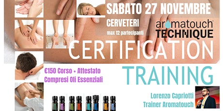 CERVETERI Corso AromaTouch Technique dōTERRA biglietti