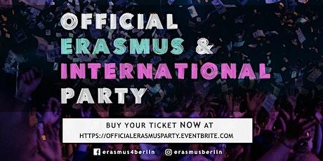 OFFICIAL Erasmus & International Party tickets