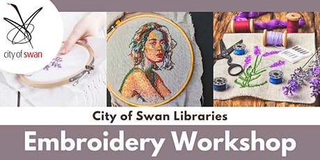 Advanced Embroidery with Em Vitetta (Guildford) tickets