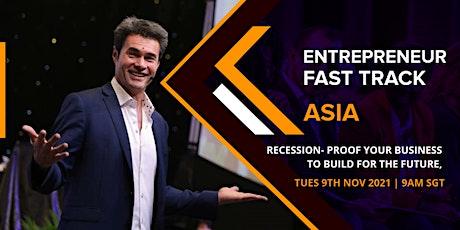 Entrepreneur Fast Track Singapore tickets