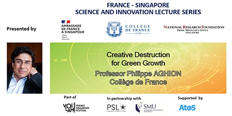 Philippe Aghion: Creative Destruction for Green Growth tickets