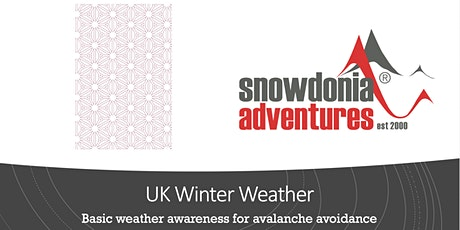 UK Winter Weather for hikers tickets