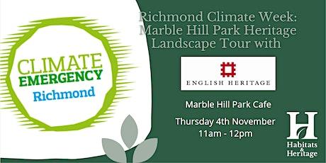 Marble Hill Park Heritage Landscape Tour tickets