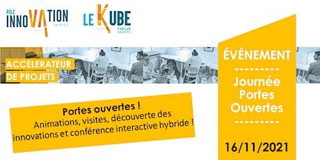 JPO - Pôle Innovation Saintes -  mardi 16 novembre 2021 billets