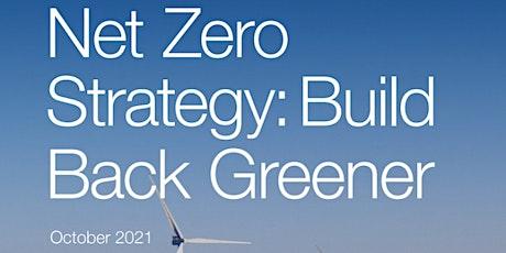 UK Net Zero Strategy Briefing tickets