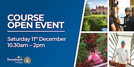 Course Open Event - December 2021 tickets
