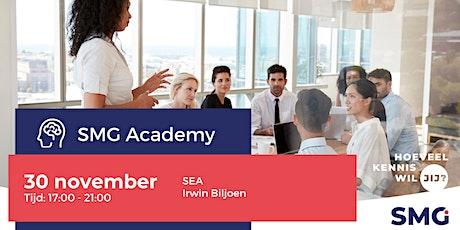 SMG Academy | SEA | Irwin Biljoen tickets