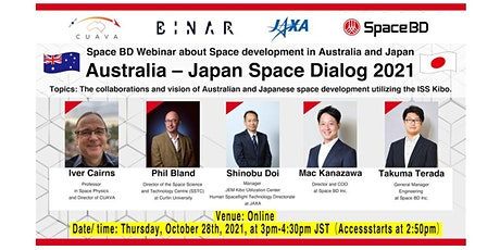 Australia – Japan Space Dialog 2021 tickets