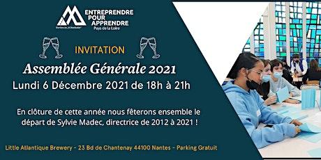 Assemblée Générale 2021 - Entreprendre Pour Apprendre Pays de la Loire billets