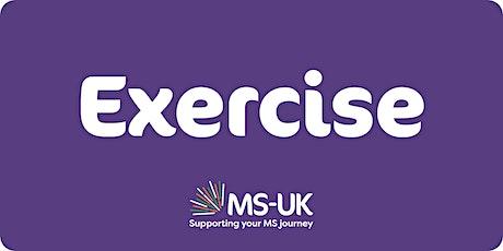 MS-UK Exercise classes (Level 1 -  3) Tue 02 Nov tickets