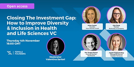 How to Improve Diversity and Inclusion in Health and Life Sciences VC tickets