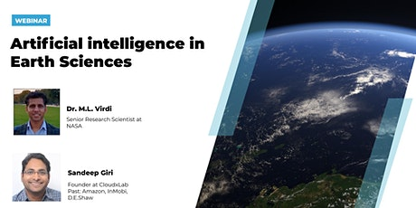 Free Webinar on AI in Earth Sciences tickets