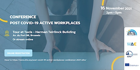 Post COVID-19 Active Workplaces Conference billets