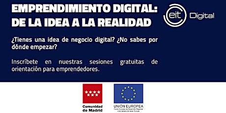 Emprendimiento digital: de la idea a la realidad entradas