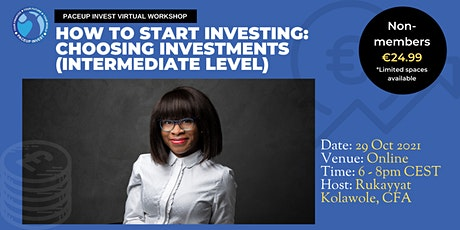 Choosing Investments - Intermediate tickets