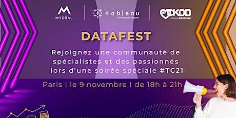 Evénement : Tableau x Mydral - Soirée Datafest #TC21 billets