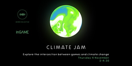 Experimental Games Lab- Climate Jam tickets