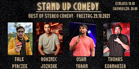 Best of Stereo Comedy - Stand-up Comedy Showcase - 29.10.2021 - Berlin Tickets
