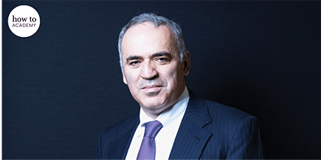 Garry Kasparov – Life Lessons from the Greatest Chess Player of All Time tickets