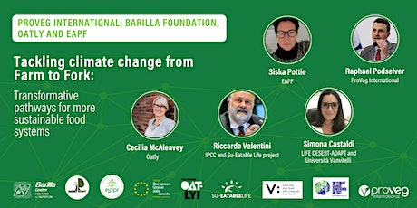 Tackling climate change from Farm to Fork tickets