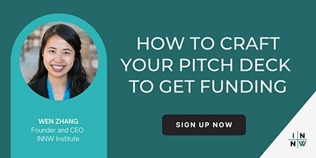 How to craft your perfect pitch deck to get funding tickets