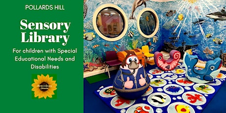 PH - Special educational needs and disabilities sensory library session tickets