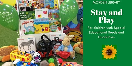 Morden Lib Special educational needs and disabilities Stay & Play session tickets
