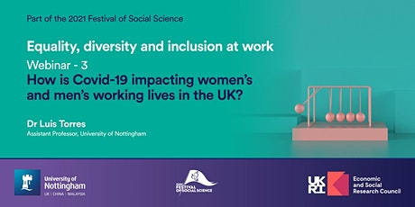 Equality, Diversity and Inclusion at Work: Webinar 3 tickets