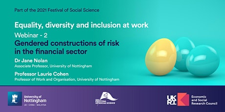 Equality, Diversity and Inclusion at Work: Webinar 2 tickets