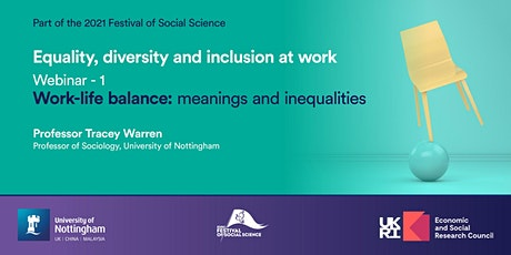 Equality, Diversity and Inclusion at Work: Webinar 1 tickets
