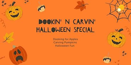 Autumn  Garden Programme: Dookin' N Carvin' Halloween Special tickets