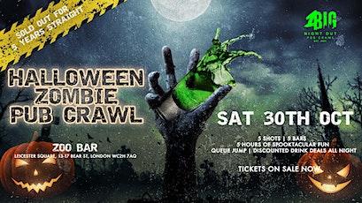 1BNO - ZOMBIE HALLOWEEN PUB CRAWL (SATURDAY 30TH OCTOBER) tickets