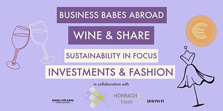 BBA: Sustainability in Focus - Investments & Fashion Tickets