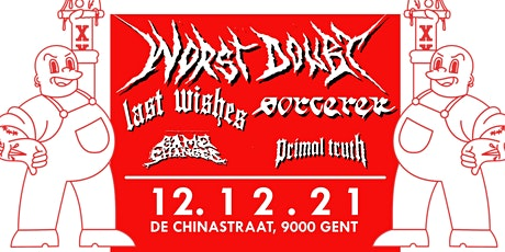 RETURN BOOKINGS presents // Worst Doubt, Last Wishes, Sorcerer // Ghent tickets
