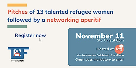 Come and meet 13 talented refugee women ready for tech and digital jobs! biglietti
