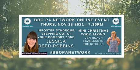 BBO PA Network ONLINE 18/11/21 Imposter Syndrome & Mini Christmas Cookalong tickets