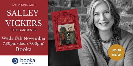 An Evening with Sally Vickers - The Gardener tickets