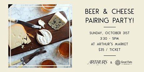 Beer + Cheese Pairing tickets