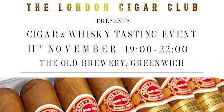 The London Cigar Club's Cigar & Whisky Tasting tickets
