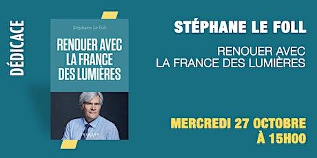 GIBERT Dédicace : Stéphane Le Foll billets