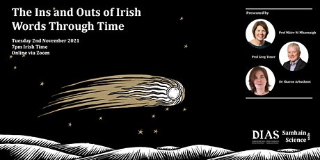 Samhain agus Science: The Ins and Outs of Irish Words Through Time tickets