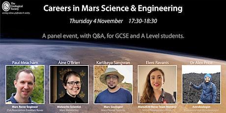 Careers in Mars Science & Engineering tickets