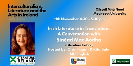 IL&AI: Irish Literature in Translation A Conversation with Sinéad Mac Aodha tickets