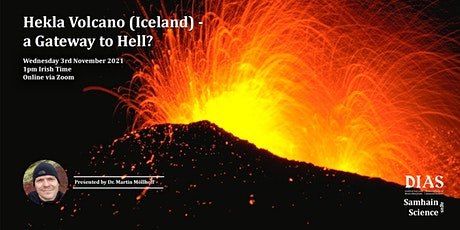 Samhain agus Science: Hekla Volcano (Iceland) - a Gateway to Hell? tickets