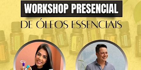 Workshop Presencial de Óleos Essenciais ingressos