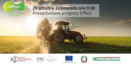Presentazione progetto EFFLICS - Ecomondo biglietti