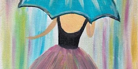 ONLINE Paint Along @ Home -- Umbrella Girl tickets