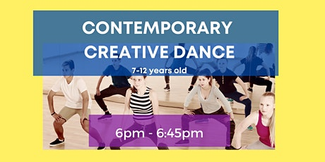 Creative Dance class/4-5pm/ 7-12 years old tickets