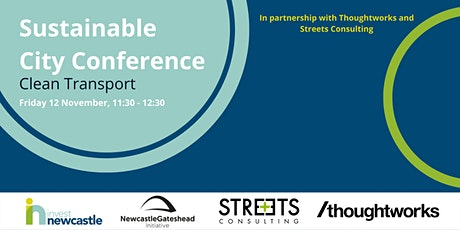 Sustainable City Conference - Clean Transport tickets