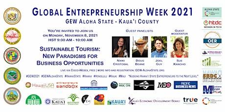 Sustainable Tourism (GEW Aloha State - Kaua'i) tickets